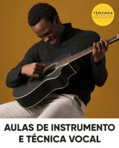 Aulas de instrumentos musicais e técnica vocal (canto) - particulares ou em grupo
