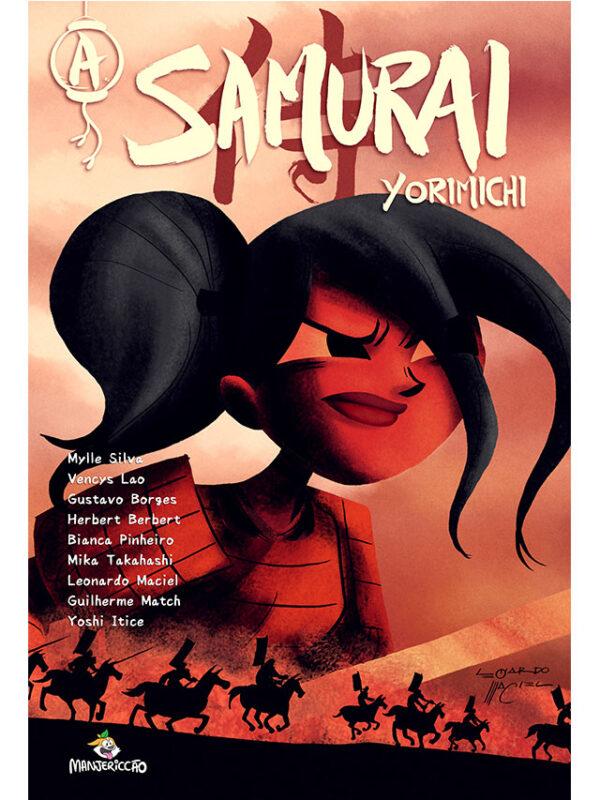 A Samurai: Yorimichi história em quadrinhos Mylle Silva