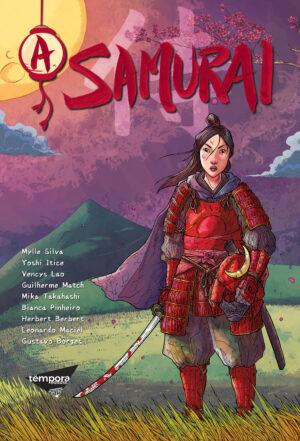 Capa A Samurai - História em Quadrinhos