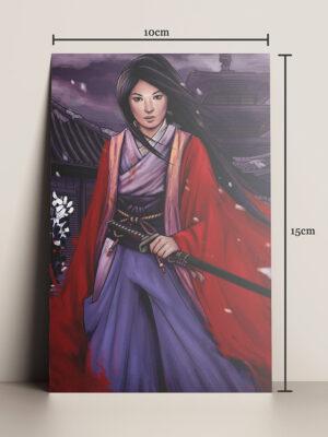 Print A5 capa A Samurai Primeira Batalha