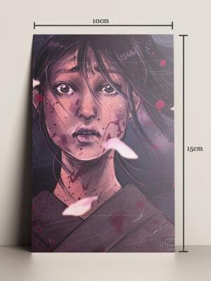 print A5 hq a samurai mary cagnin