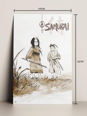 print A5 hq a samurai mika takahashi