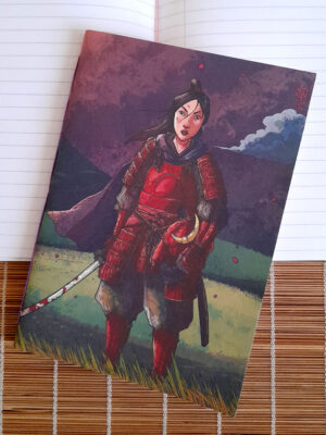 Caderno brochura pautado A5 A Samurai Guilherme Match
