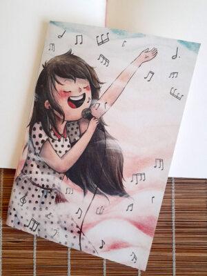 Caderno brochura A5 Doce Jazz